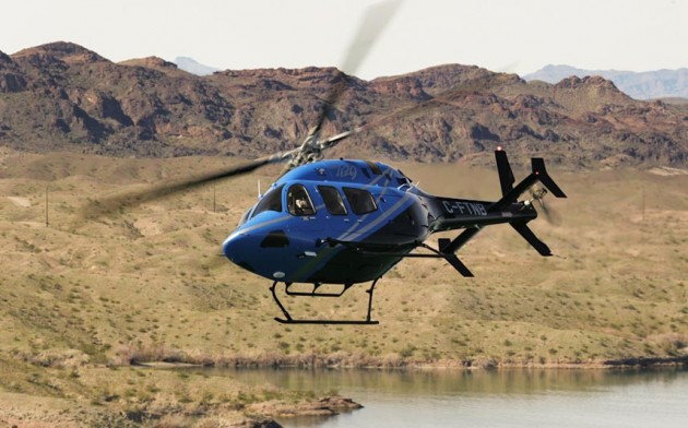 Long before the contract was awarded, rival manufacturer Airbus Helicopters Canada,  launched a court challenge claiming that Transport Canada gave Bell a leg-up by granting its model 429 (shown above) a crucial weight exemption. PHOTO: Bell Helicopter