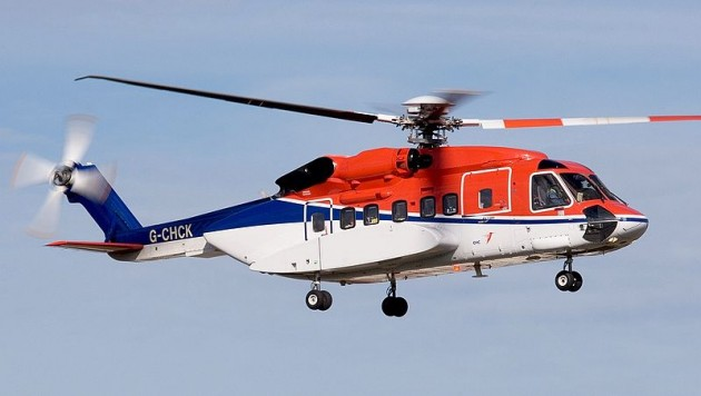 Demand is declining for shuttling workers to offshore oil platforms. Photo: Sikorsky