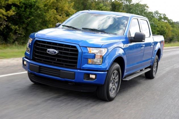 A military-grade aluminum alloy body cuts 700 pounds from the  new F-150. PHOTO: Ford Motor Co.