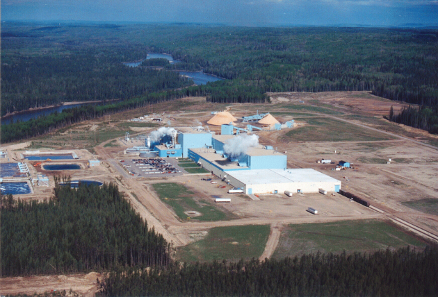 Aerial pic of ANC's facility. PHOTO: NORDAHL FLAKSTAD