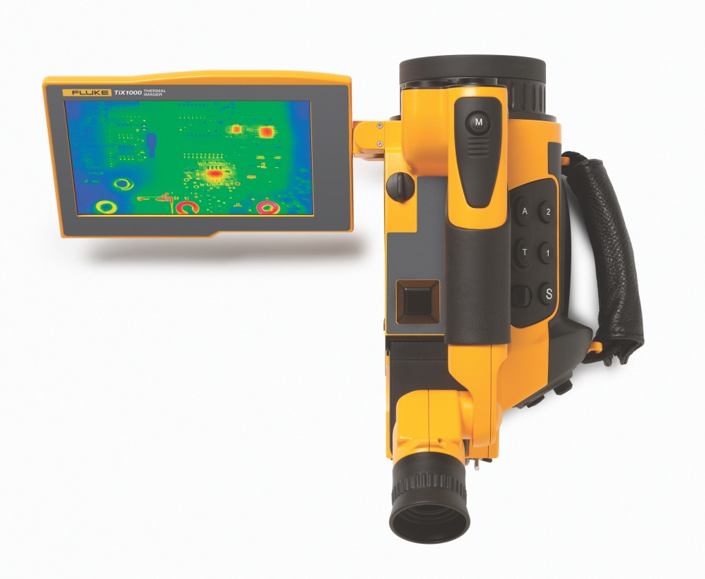 SuperResolution mode on the TiX1000  cameras increase image resolution, when viewed in SmartView software.  Photo: Fluke
