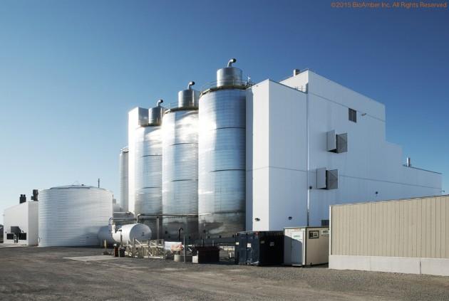BioAmber's succinic acid plant in Sarnia, Ont. PHOTO: BIOAMBER