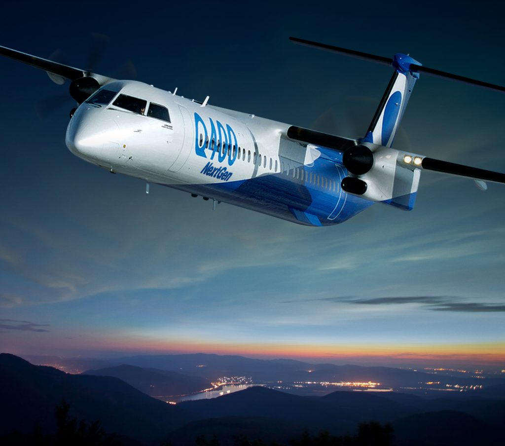 Bombardier sticking with regional aircraft, won't guarantee Q400