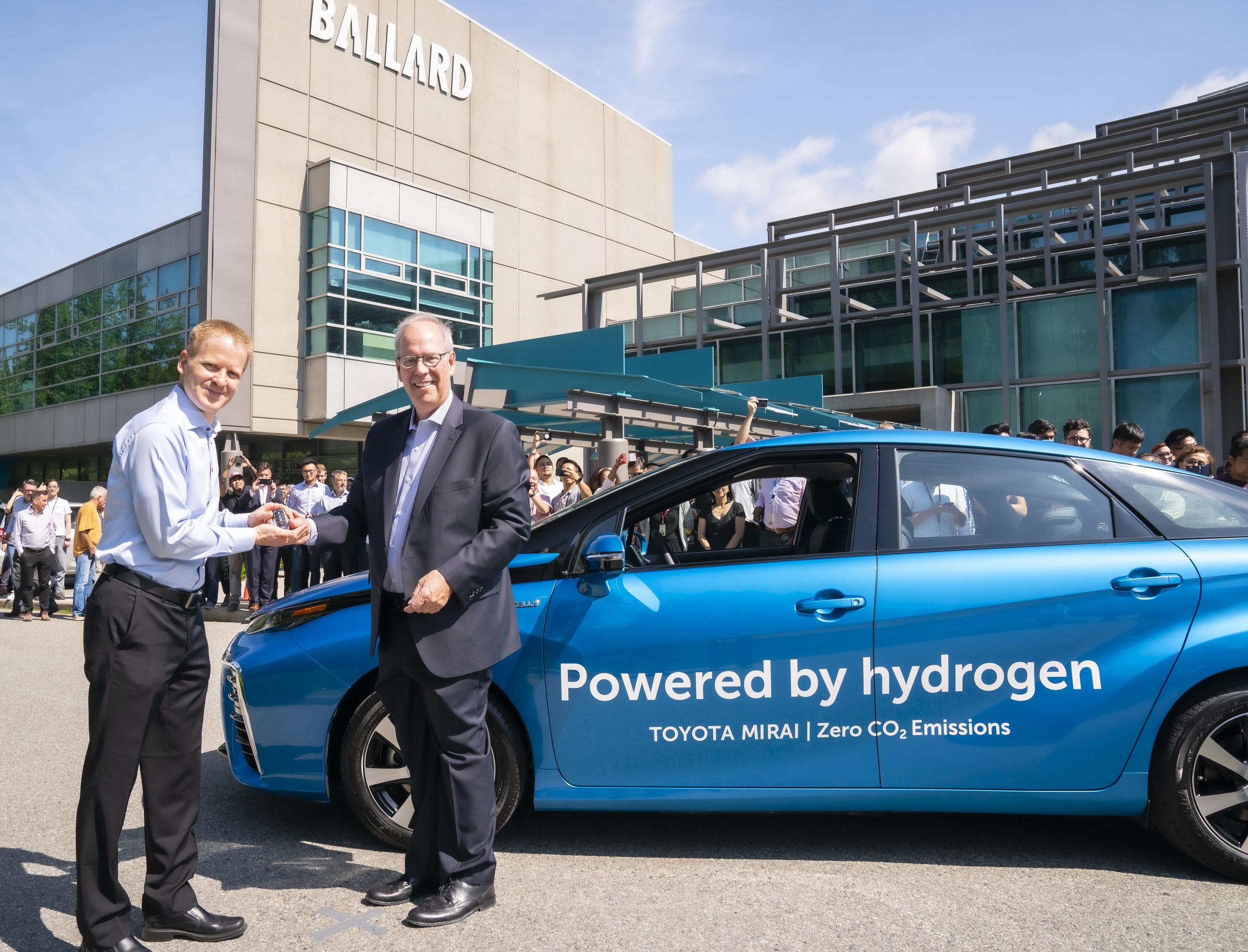 Ballard to purchase BC's first fleet of hydrogen vehicles